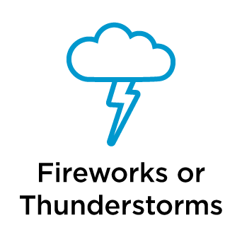 Fireworks or Thunderstorms